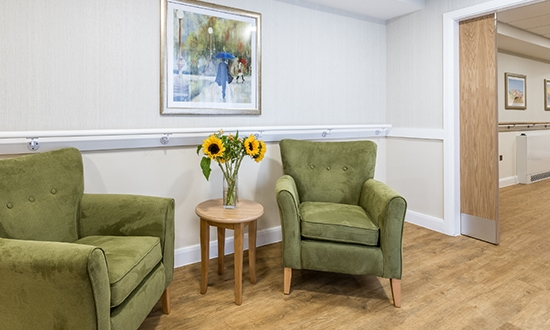 Lily Wharf seating area