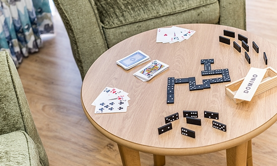 Lily Wharf carehome activity room