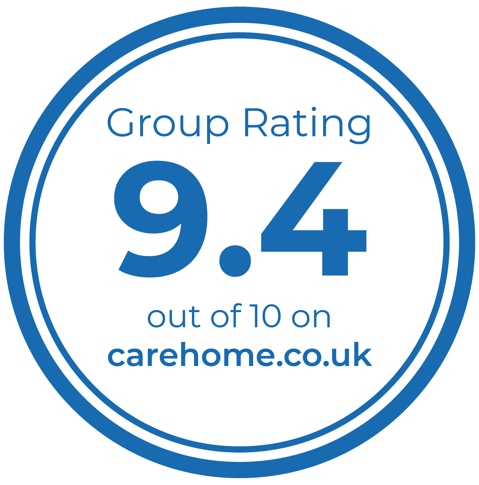 carehome.co.uk rating badge